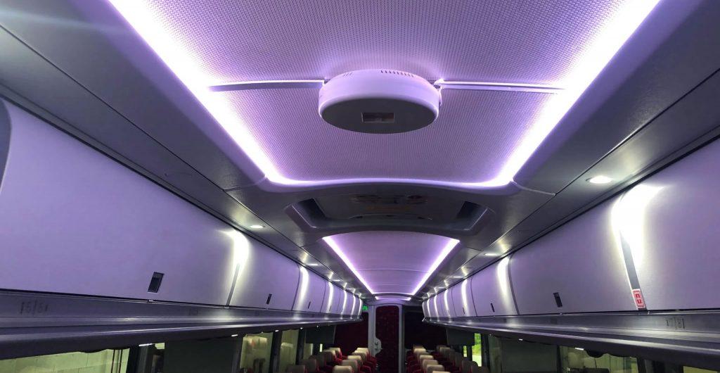 Cleveland-based-Barons-Bus-first-USA-motorcoach-operator- install-FAR-UV-Lighting