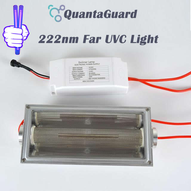 222-nm-far-uvc-light-Manufacturers-direct-buy-15w-QuantaModule-excimer-far-uvc-lamp-15-watt-lamp-24v-DC-power-supply-band-pass-filter-and-housing-kit