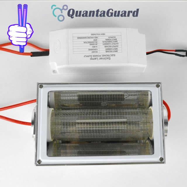 222-nm-far-uvc-light-Manufacturers-direct-buy-20w-QuantaModule-excimer-far-uvc-lamp-20-watt-lamp-24v-DC-power-supply-band-pass-filter-and-housing-kit