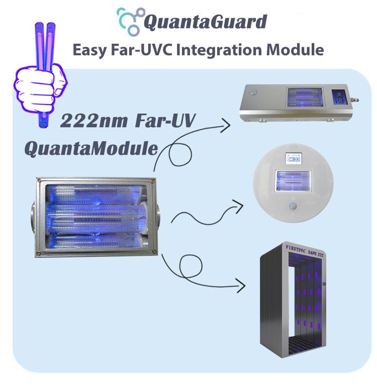 far-uv-light-build-far-uv-modular-design-Far-uvc-Quantalamp-b-series-FirstUVC-24V-Far-UV-222nm-20-watt-Excimer-far-uvc-222nm-20-watt-far-uvc-light